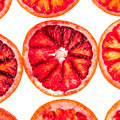 Sliced red orange Royalty Free Stock Images