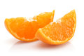 Sliced Tangerine Royalty Free Stock Images