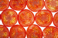Sliced Tomatoes Background