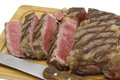 Sliced wagyu steak Royalty Free Stock Photo