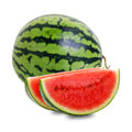 Sliced watermelon 2 Stock Photos