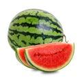 Sliced watermelon 2 Stock Photos