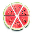 Sliced watermelon Royalty Free Stock Photo