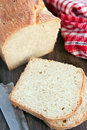 Sliced white bread Stock Photos