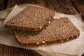 Slices of Brown Bread Royalty Free Stock Photo