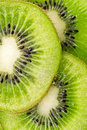 Slices of juicy kiwi fruit Royalty Free Stock Photography
