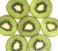 Slices kiwi Royalty Free Stock Photos