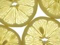 Slices of lemon Stock Image