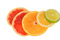 Slices orange representative photo healthy vitamins fresh fruit Royalty Free Stock Photos