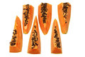 Slices of Papaya Royalty Free Stock Photo
