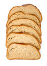 Slices of wholemeal bread Royalty Free Stock Image