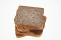 Slices of Wholemeal toast bread Royalty Free Stock Photo