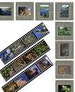 Slide film Royalty Free Stock Photo