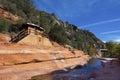 Slide Rock State Park in Sedona Royalty Free Stock Photo