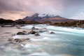 Sligachan River Royalty Free Stock Photo