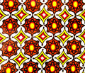 Slik batik fabric Royalty Free Stock Photo