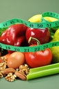 Slimming Diet Healthy Food (Vertical) Stock Photo