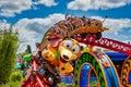 Slinky Dog Dash rollercoaster ride Royalty Free Stock Photo
