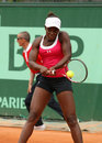 Sloane Stephens (USA) at Roland Garros 2011 Royalty Free Stock Images