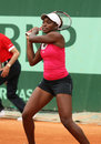 Sloane Stephens (USA) at Roland Garros 2011 Stock Photography