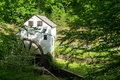Slone's Grist Mill – Explore Park, Roanoke, Virginia, USA Royalty Free Stock Photo