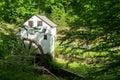 Slone's Grist Mill – Explore Park, Roanoke, Virginia, USA Royalty Free Stock Photo