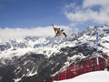 Slopestyle Fotografia de Stock Royalty Free