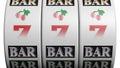 Slot fruit machine Royalty Free Stock Photo