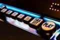 Slot Machine Play Royalty Free Stock Photo
