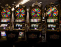 Slot Machines Stock Photo