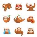 Sloth Polygonal Set