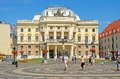 Slovak national theatre in bratislava slovakia august on august the oldest consisting of ensembles opera Stock Image