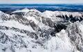 Slovensko, pohľad z hôr