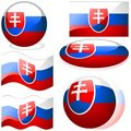 Slovakia Set Royalty Free Stock Photography
