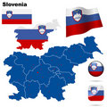 Slovenia  set. Stock Image