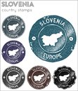 Slovinsko pečiatky