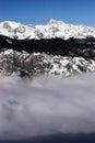 Slovenian alps highest peak of the triglav Royalty Free Stock Images