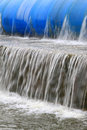 Slow flow of water Royalty Free Stock Photo