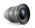 Slr camera lens ultra wide for on white background Royalty Free Stock Images