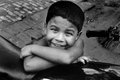 The Slum Boy Royalty Free Stock Image