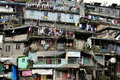 Slum a crowded residential area in baguio city philippines baguio is known to tourist looking for a cooler climate during summer Royalty Free Stock Images