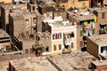 Slum dwellings in Cairo Egypt Royalty Free Stock Photo