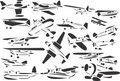 Small Airplanes Stock Image