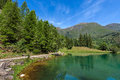 Small Alpine Lake.