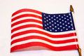 Small American Flag Royalty Free Stock Photos