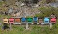 Small apiary Royalty Free Stock Image