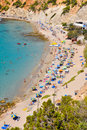 Small beach at Ibiza, Spain Royalty Free Stock Photography