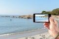 Small beach in Sardinia Royalty Free Stock Photo