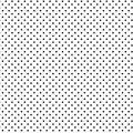 Small Black Polka Dots, White Background, Seamless Background
