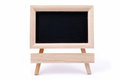 Small blackboard on easel Royalty Free Stock Images